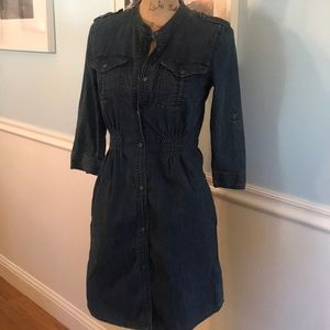 Jean dress by Calvin Klein Jeans size XSP Too cute
